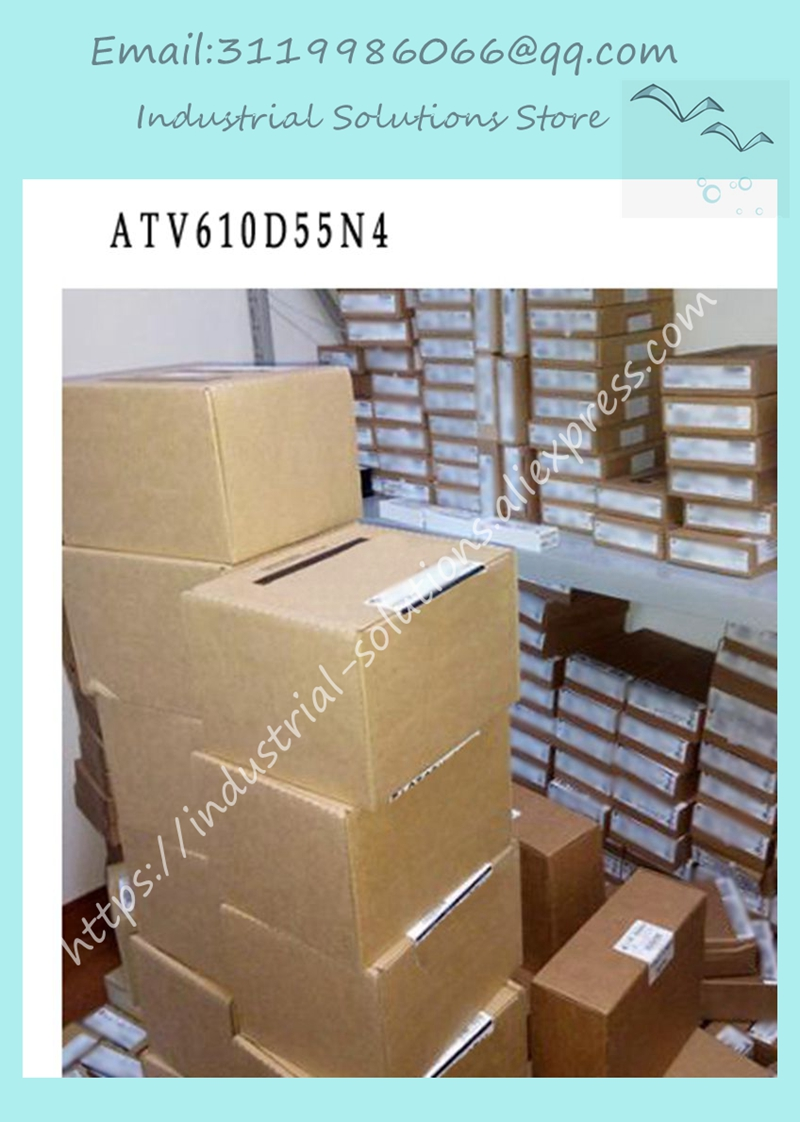 New ATV610D55N4 ATV61OD55N4 55KW 3P 380~415V integrated panelNew ATV610D55N4 ATV61OD55N4 55KW 3P 380~415V integrated panel