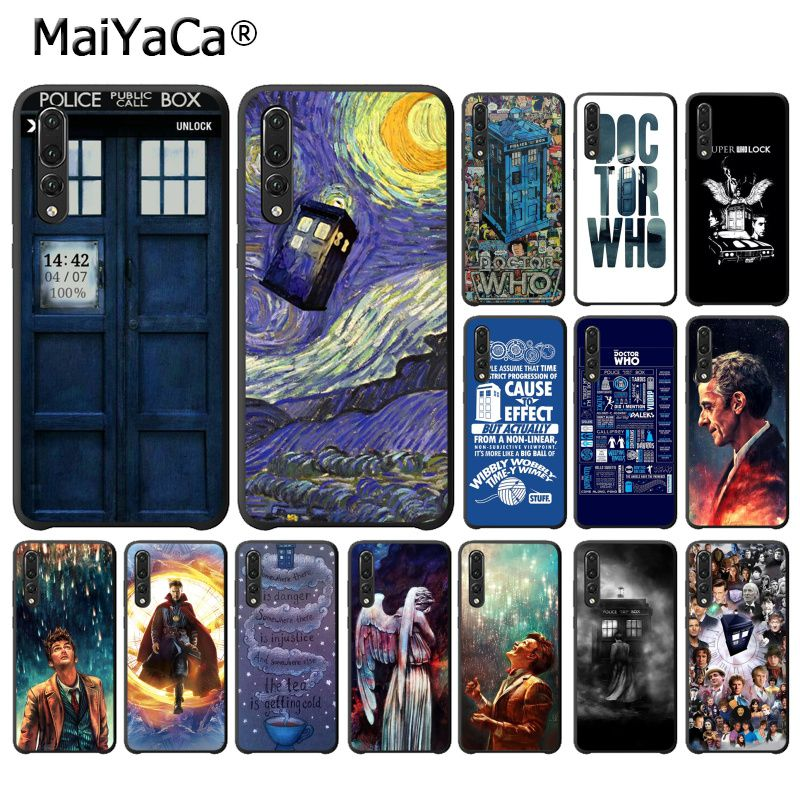 Cellphones & Telecommunications Self-Conscious Maiyaca Tardis Box Doctor Who Painted Phone Case For Huawei P20lite P10 Plus Mate10lite Mate20 P20 Pro Honor10 View10 Sale Overall Discount 50-70%
