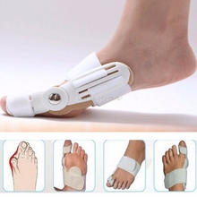 1Pc Day + Night Bunion Splint Toe Care Corrector Hallux Valgus Straightener Foot HTY07