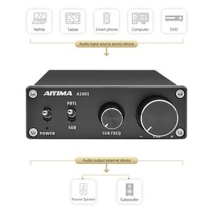 Image 2 - AIYIMA TPA3116D2 усилитель сабвуфера класса D, монохромный цифровой аудио усилитель высокой мощности Hi Fi, усилитель 100 Вт, домашний кинотеатр