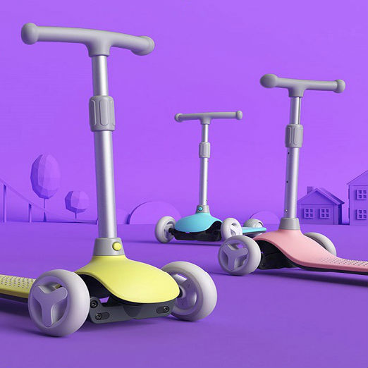 Original Xiaomi Mitu Child Scooter For 3 6 Years Old Child Multiple Security Balanced Scooter Infant Baby Max 50KG Adjustable