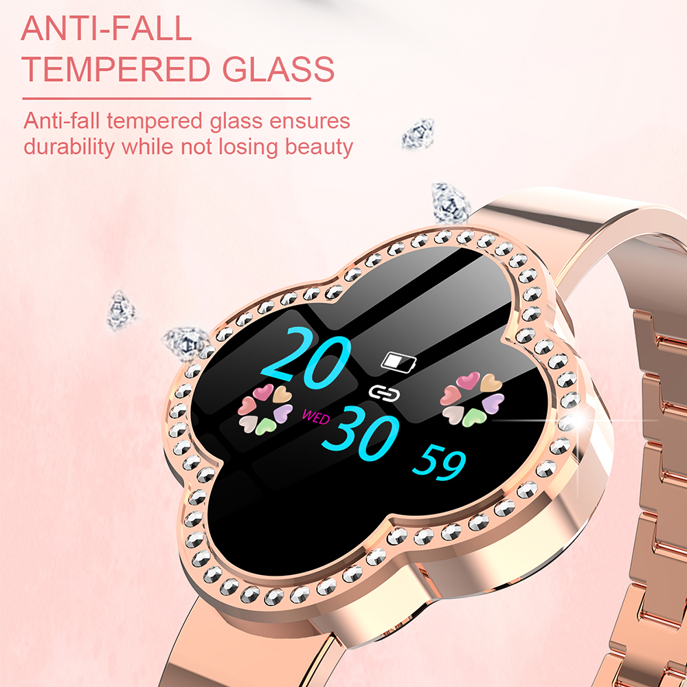 Timethinker femmes montre intelligente dame Smartwatch mode pression artérielle moniteur de fréquence cardiaque Fitness Tracker Hombre Reloj