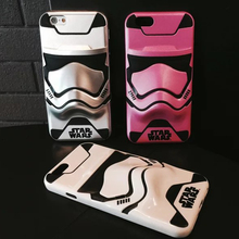 3D Stormtrooper Case Cover iPhone 6 6S 6 Plus 6s Plus 7 7 Plus 8 8 Plus