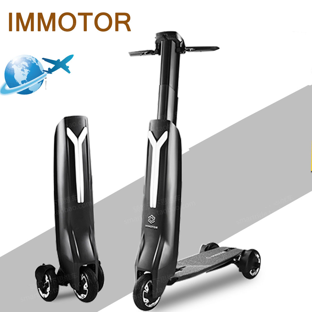 Immotor GO foldable three wheel light and compact electrical scooters promax driven wheel block for gy6 150cc scooters atvs go karts moped quads 4 wheeler dune buggys