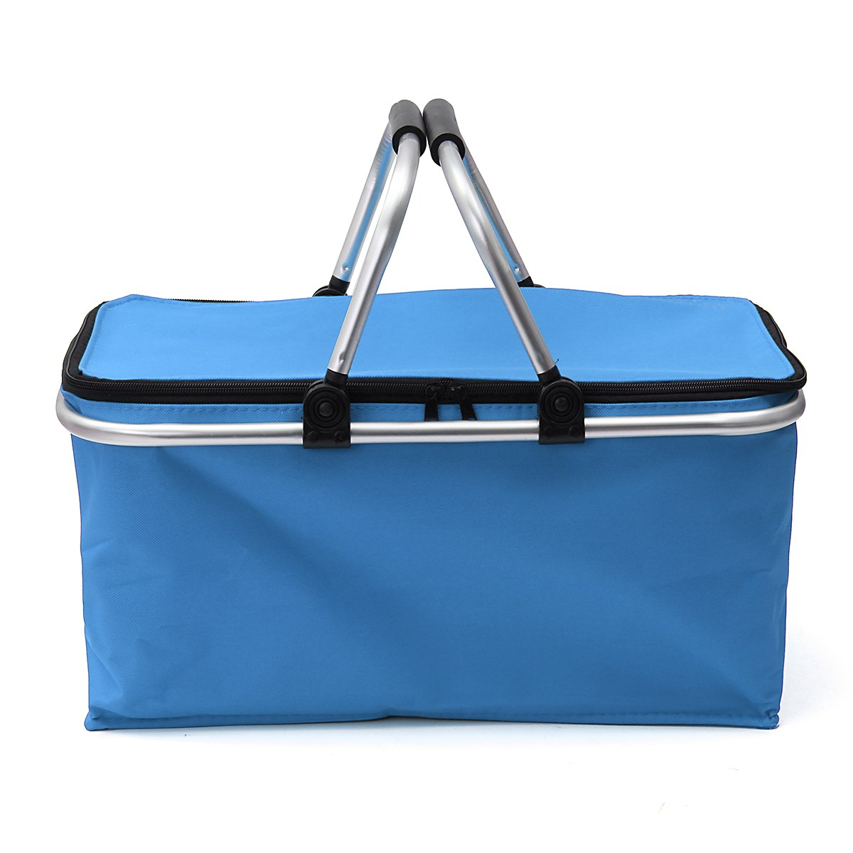 Picnic Baskets Folding Outdoor Camping Cooler Insulated Oxford ...
