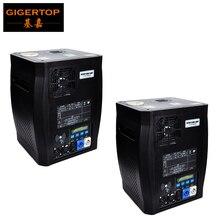 Gigertop 2 единицы Sparkular 2-5 м DMX 512 фонтан этап холодный электроэрозионный станок фейерверк ЖК-дисплей мощность IN/OUT разъем