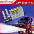 Barco del carro 24 V HID xenon kit 55 W xenon HID kit 24 V camión faros HID de xenón hid H1 H3 H7 24 V DAF Camiones HINO Van