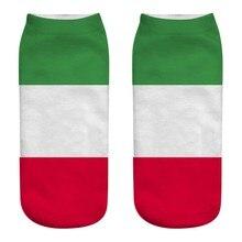 Спортивные носки Mujer, унисекс, повседневные, для работы, Национальный флаг, 3D, милые, с принтом, средние Носки, Ван Гог