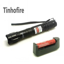 Cheaper Tinhofire Top Quality Laser Green 10000m Green Laser Pointer Pen+ 18650 3000Mah battery + charger