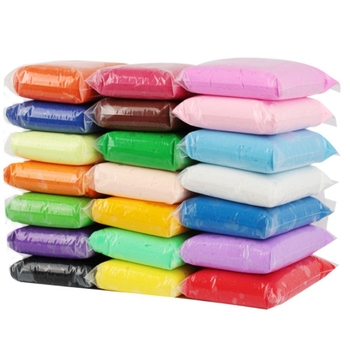 100G/Bag 24 Color Modeling Clay Air Drying Diy Soft Polymer Clay Polymer Modeling Clay Soft Blocks Plasticine Kids Playdough P