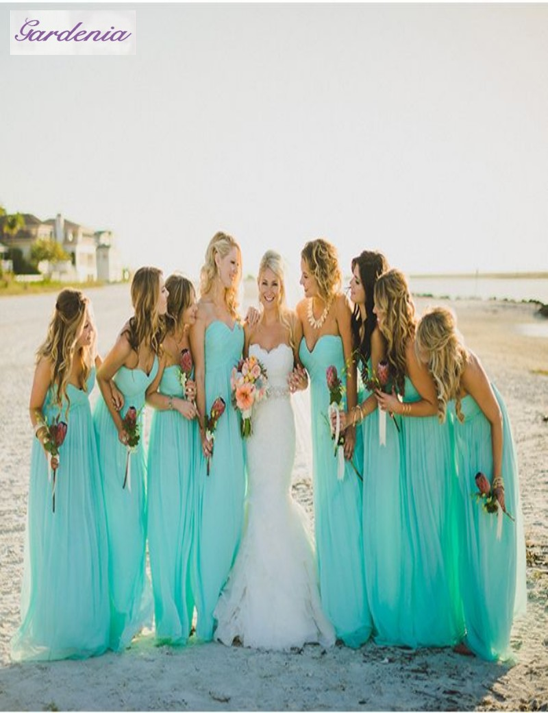 Mint bridesmaid dresses cheap 2015 hot sale sweetheart neckline mint bridesmaid dresses cheap 2015 hot sale sweetheart neckline formal gown floor length beach wedding party gowns mab0014 in bridesmaid dresses from ombrellifo Gallery