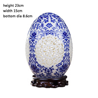 Decorative ornaments, hollowed out lucky eggs