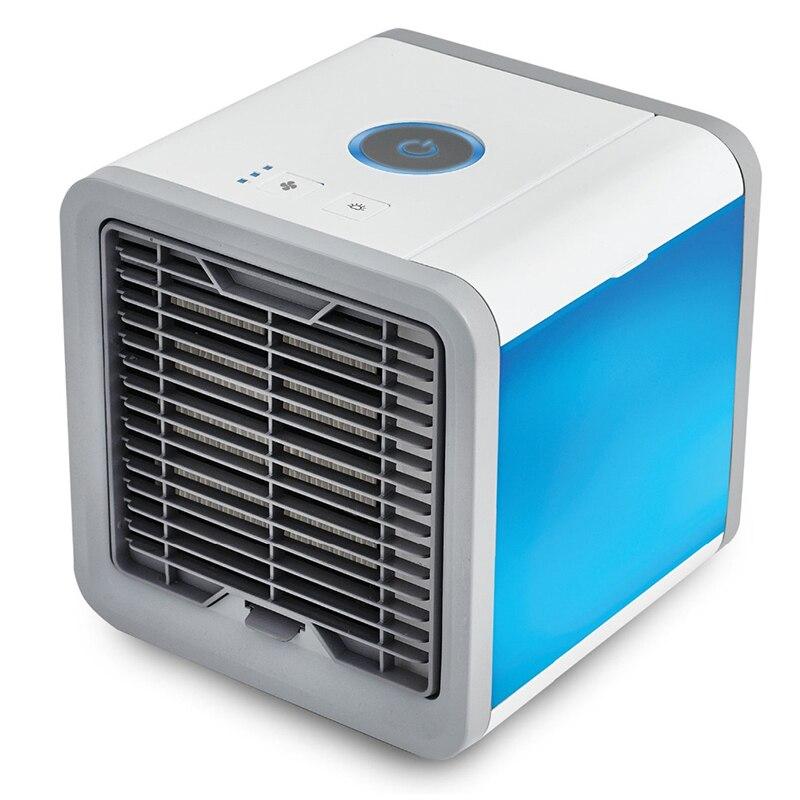Mini ventilador USB portátil de aire acondicionado refrigeración portátil ventilador fresco viento ventiladores eléctricos ventilador enfriador de aire para el hogar dormitorio oficina