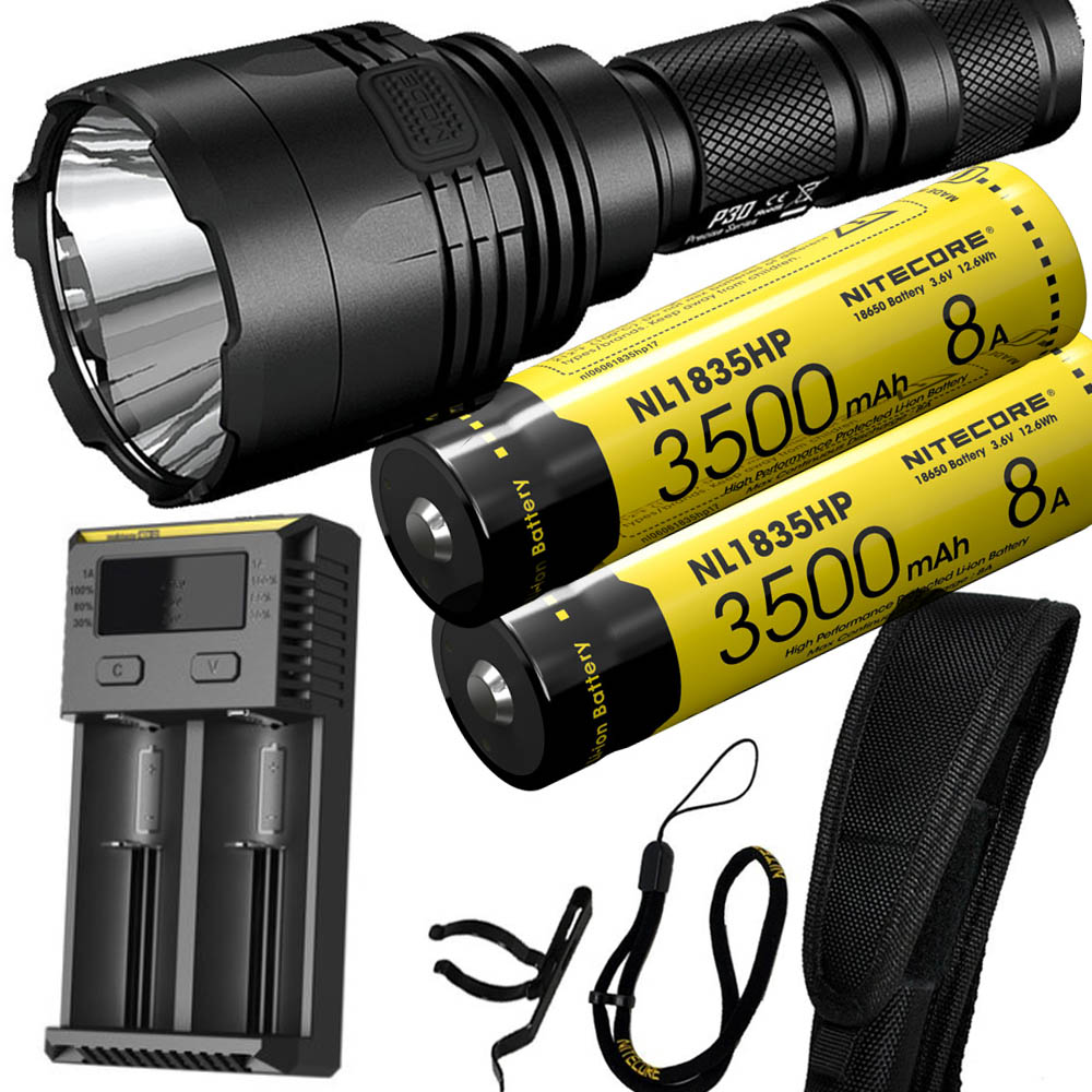 NITECORE P30 Flashlight CREE XP-L HI V3 LED max 1000LM 8 Working Modes beam distane 618 meter LED torch outdoor rescue lightNITECORE P30 Flashlight CREE XP-L HI V3 LED max 1000LM 8 Working Modes beam distane 618 meter LED torch outdoor rescue light