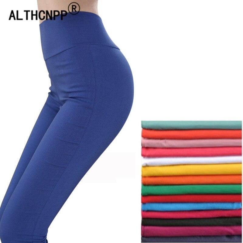 6XL Plus Größe Frauen Hosen Schlanke Hohe Taille Stretch Bleistift Hosen Dünne Elastizität Capris Für Frauen Damen Hosen Pantalon Femme