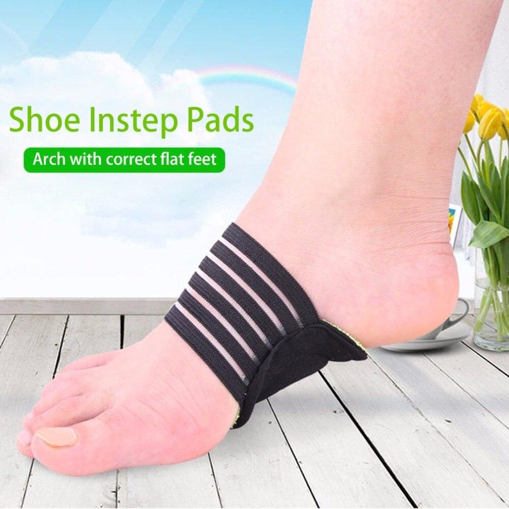 1 пара здоровья ног Плоскостопие Арка Поддержка обувные стельки удобный подъем Pad Стельки
