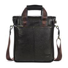 BOSTANTEN 100% Top GENUINE LEATHER Cowhide Shoulder Leisure Men's Bag