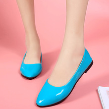2017 NEW Fashion women's shallow shoes Female Vogue lady best selling Flats Shoes big size EUR size35-42