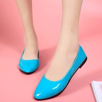 2017 NEW Fashion Women S Shallow Shoes Female Vogue Lady Best Selling Flats Shoes Big Size