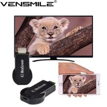 Original Mirascreen OTA HD Video Mini Smart TV Stick DLNA/Airplay TV Dongle High Speed No Buffer Streaming TV Player