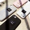 "Smile Face Luxury Телефон Casess Плюшевые Ткани Обложка для iPhone 6 6 s 4.7 дюймов 6 плюс 6 splus 5.5 ""Coque Para для iPhone 7 7 plus"