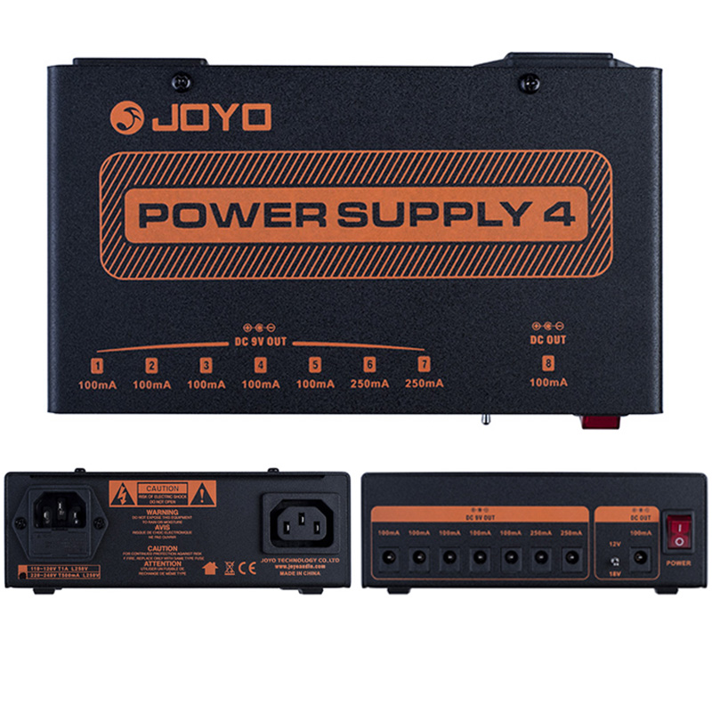 JP-04 Power Supply 4 JOYO 8 Independent 9V 12V 18V Output JP04 JOYO Guitar Effect Pedal Power Supply Guitar Accessories