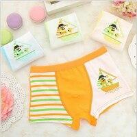 5Pc/lot The New Cartoon Children's Underwear 100% Cotton Baby Boy Underpants TNM3067