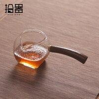 Japanese Heat Resistant Glass Tea Cup Tea Pot Drinkware Kung Fu Coffee Tea Set Tea Infuser