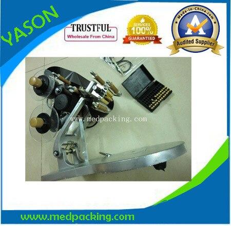 ФОТО Manual Number  Date Printer Code Printing Machine for  Bag & Paper & Film 0806070H