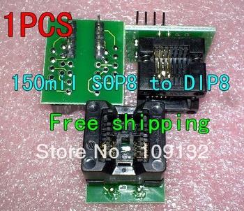 SOP8 do DIP8 SOP8 się DIP8 SOIC8 do DIP8 IC gniazdo programatora gniazdo adaptera do szerokiego 150mil dobrej jakości nowy w magazynie tanie i dobre opinie Porzingis Regulator napięcia