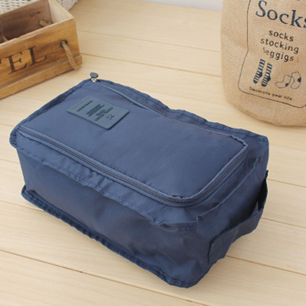 Waterproof Shoe Travel Pouch Portable Environmental Storage Bag Organizer Portable Shoes Tote Luggage Carry Pouch Holder