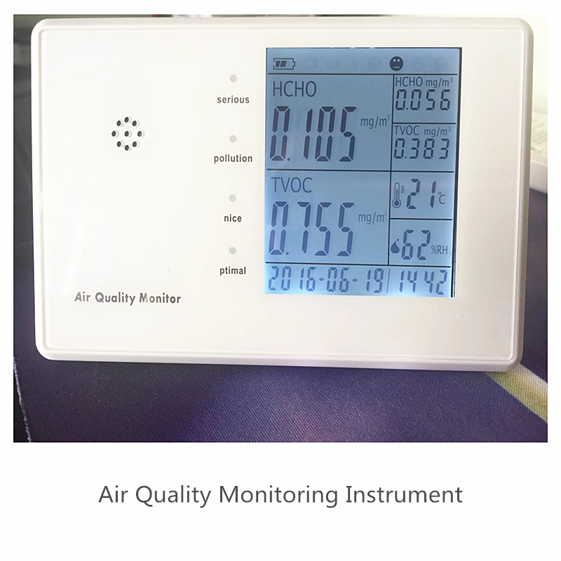 Free shipping JSM-136 High Precision VOC PM2.5 Data Logger Air Monitor Indoor Hygrometer with RH Humidity and PM2.5 Detector az 7788 desktop co2 temperature humidity monitor data logger air quality detector