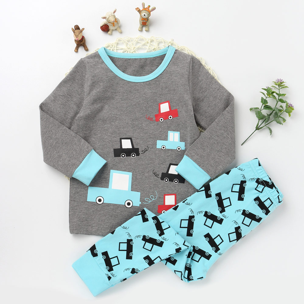New Casual Pajamas Sets For Girls And boys Character Sleepwear Kids Trousers Children Long Sleeve T shirts Cotton Clothing Suits cartoon character pijamas pyjamas kids pajamas for boys girls children clothing set sleepwear factory price 2015 newest cheap