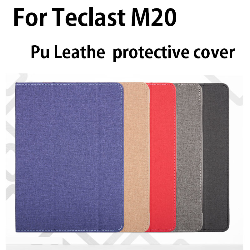 High Quality Fashion Teclast M20 PU Leather Case Cover With Stand Up Function Cover Free Shipping