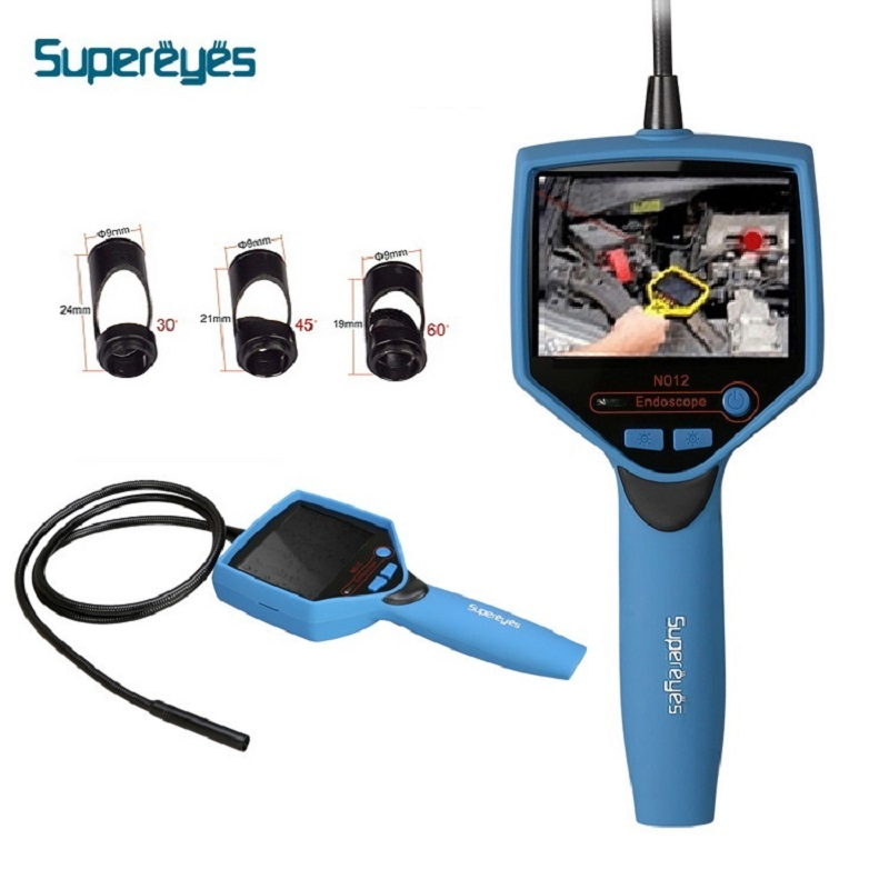 Supereyes Waterproof Pipe Endoscope HD 3.5 Screen Video Microscope for Car Repairing Industrial Electronic LED Inspection goodman troubleshooting &amp repairing electronic circuits 2ed pr only