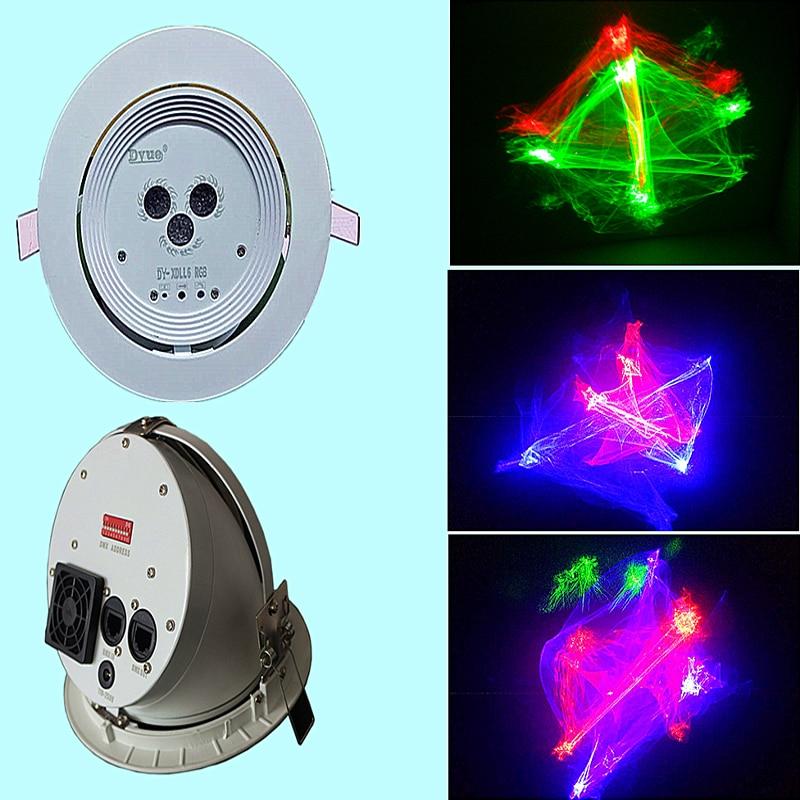 300mW Laser Light RGB 3 Colors Dream Grating Effect Laser Show System Ceiling Design DMX Stage Light For DJ Disco KTV Party
