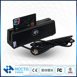 Multifunctionele USB Interface 1/2/3 Tracks Programmeerbare Magnetische Kaart Skimmer HCC110