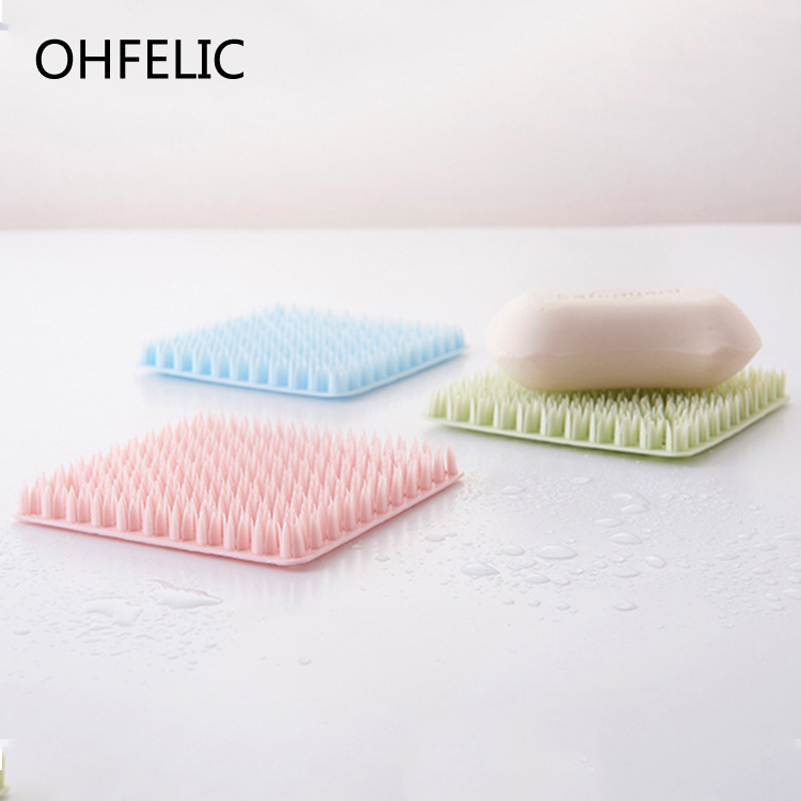 Multifunction Bowl Cleaning Brushes Silicone Dish Cleaning Scourers Brush Household Bathroom Pan Wash Tool Kitchen Accessories