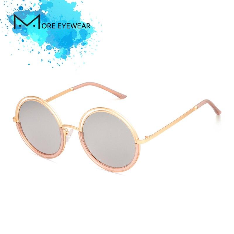 2018 DADO ronda nueva moda de mujer gafas de sol polarizadas espejo lente  con la pierna de Metal de gafas para mujeres UV400 en Gafas de sol de  Accesorios ... 5d0512d0f478