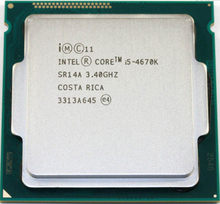 I5-4670K INTEL Core i5 4670K I5 4670K 3.4 GHz/6 MB/4 cœurs/Socket 1150/5 GT/s) processeur de bureau Quad Core SR14A peut fonctionner(China)