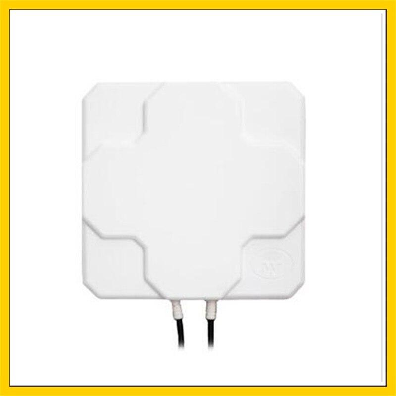 2 * 22dbi 4G antenne panneau extérieur LTE antenne directionnelle aérienne MIMO antenne externe 2 * N mâle 10 M câble pour routeur 4g