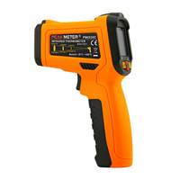HHTL PEAKMETER PM6530C Infrared Thermometer Hand Held Meter For Non Contact And K Type Thermocouple Temperature Measurement