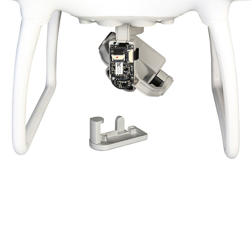 High Quality PTZ Motor Protection Accessories Gimbal Base Aluminum Cable Protection Kit For DJI Phantom 4
