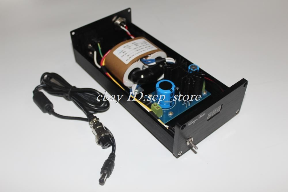 ФОТО 30W (30VA) DC12V HiFi Linear power supply Regulated PSU for DAC headphone amp