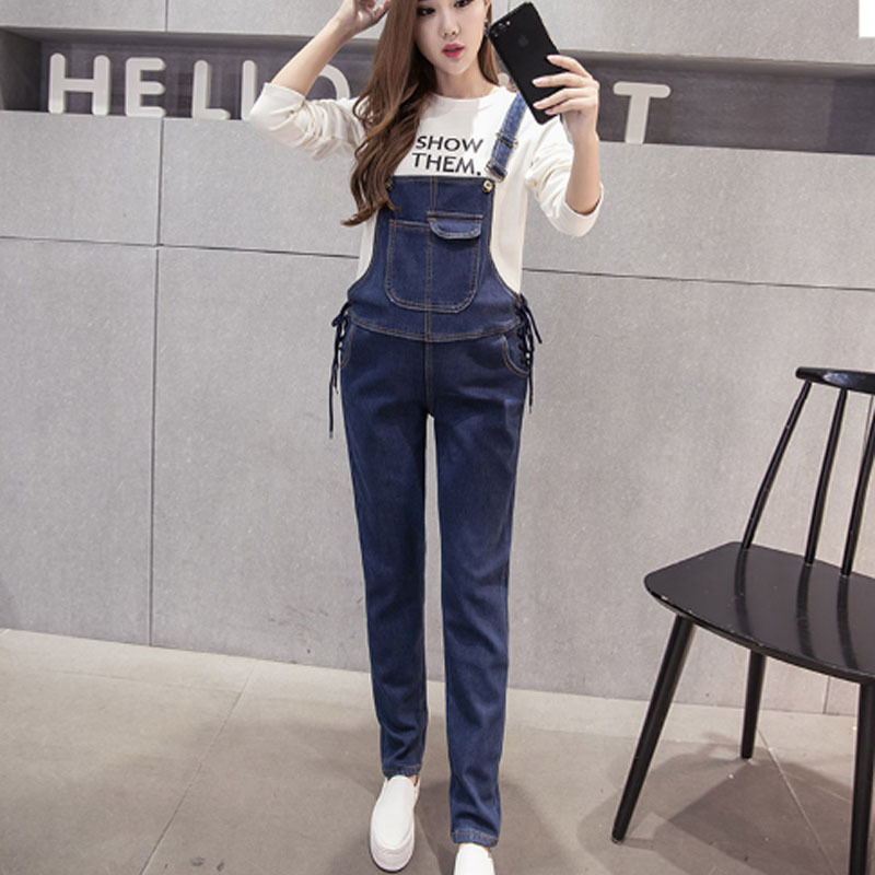 New Jeans Maternity Pants For Pregnant Women Dungarees Clothes Trousers Prop Belly Leggi ...