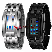 Luxury Men S Stainless Steel Date Digital LED Bracelet Sport Watches 5215