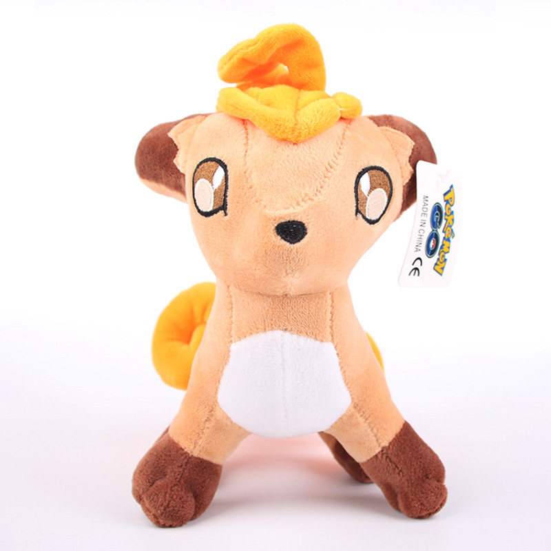 5pcs/lot 20cm Vulpix Plush Stuffed Toys Doll Soft Cartoon Animals Toy for Kids Children Christmas Gifts 5pcs lot pikachu plush toys 14cm pokemon go pikachu plush toy doll soft stuffed animals toys brinquedos gifts for kids children