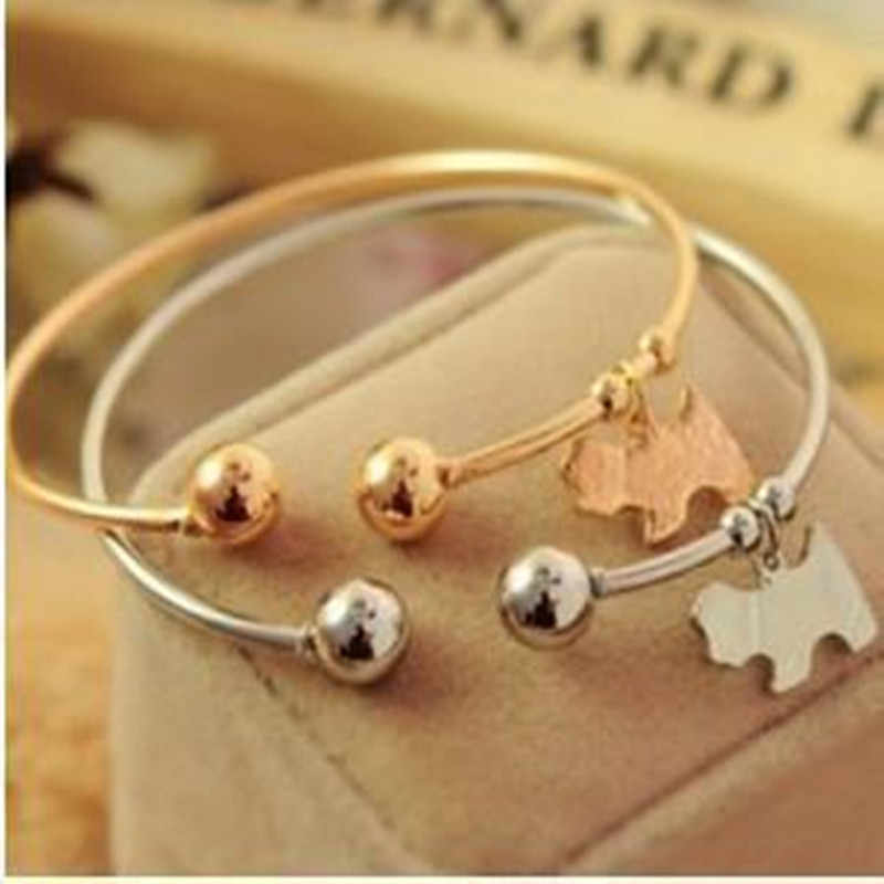 Hot Sales Free Shipping   Fashion Women Cute Puppy Bracelet Jewelry Accessories Bangles jewelry wholesale