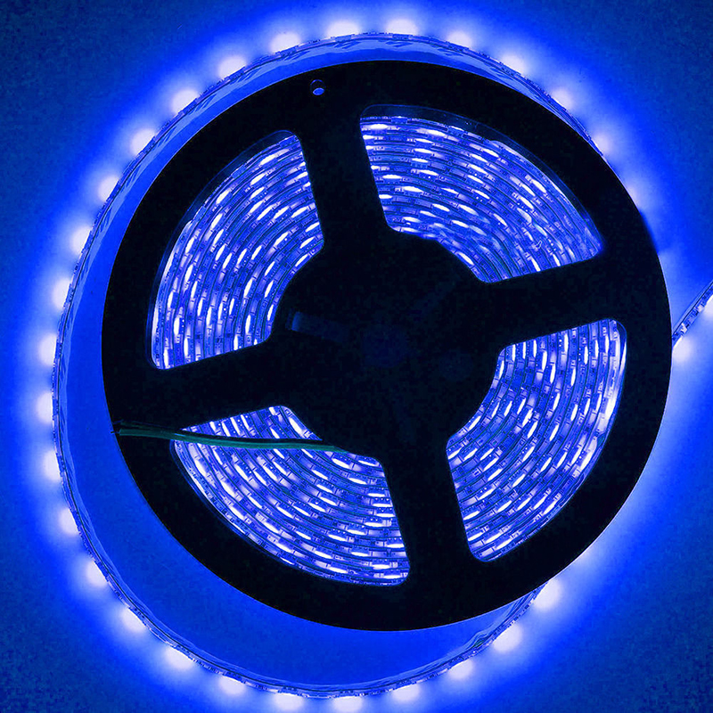 5M 12V 300 LEDs Auto Motorcycle Boat Truck Car Flexible Strip Light 3528 SMD Waterproof LED Strip Ribbon Lamp Decorative Light sencart 300 smd 335 leds 30w flexible white light led 6000 6500k waterproof strip lamp 5m