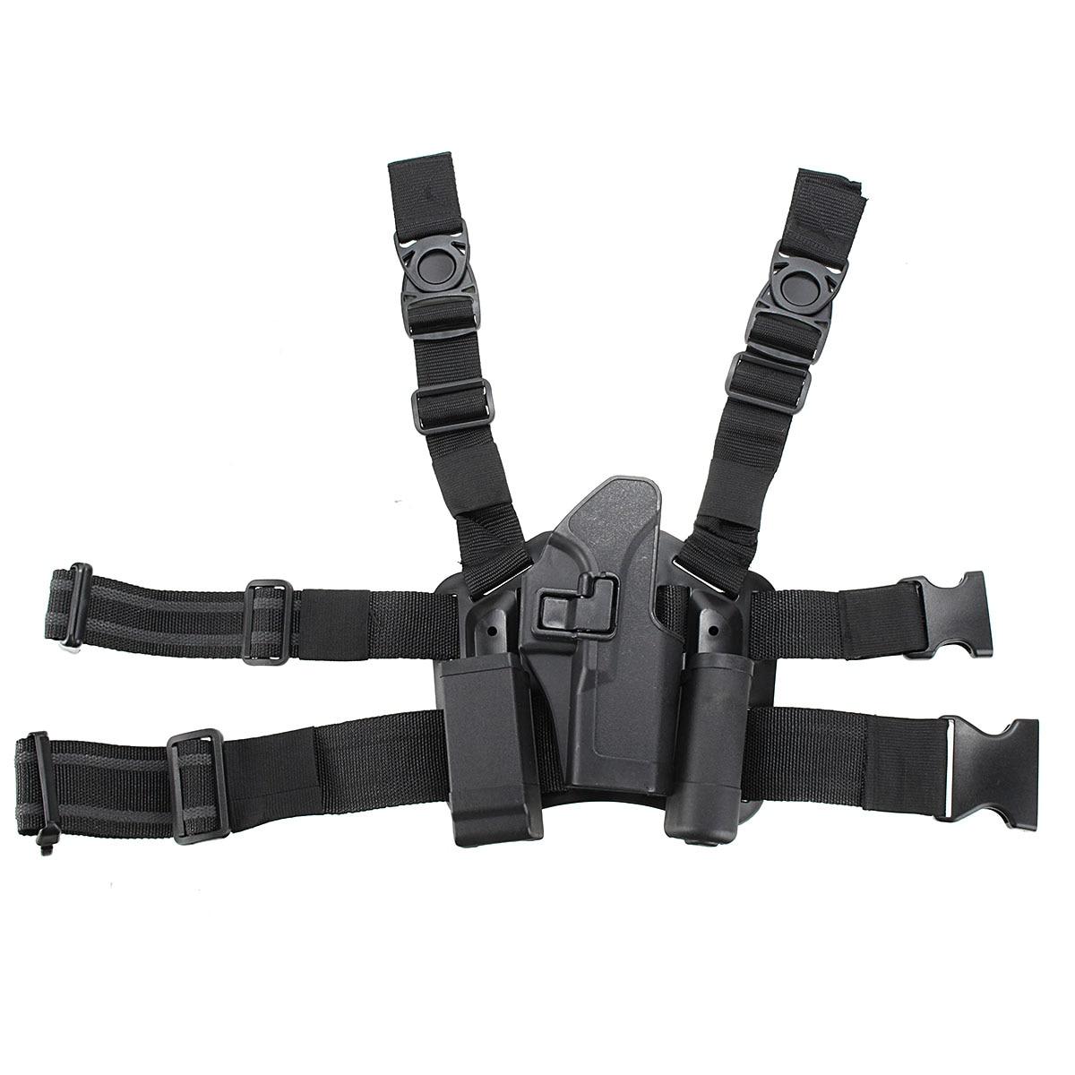 Tactical Right Leg Thigh Holster w/ Magazine Torch Pouch Glock 17 19 22 23 31 32 потолочная люстра st luce sl921 sl921 102 07